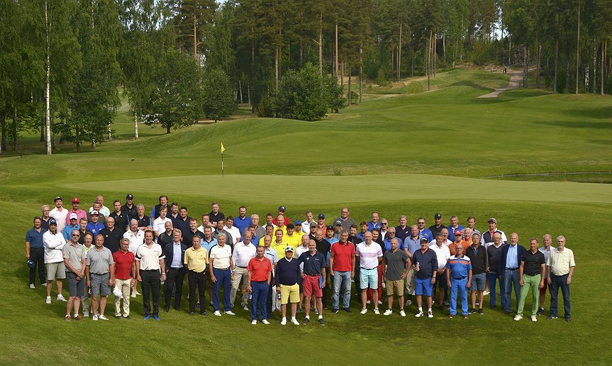 Alumni Hockey Golf 2018 Vanajanlinnassa